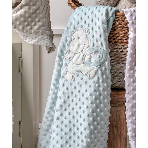Κουβέρτα Fleece Αγκαλιάς Kentia Baby Moran 10