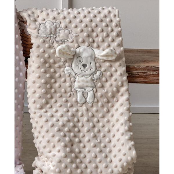 Κουβέρτα Fleece Αγκαλιάς Kentia Baby Moran 12