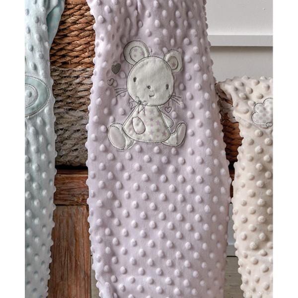 Κουβέρτα Fleece Αγκαλιάς Kentia Baby Moran 35