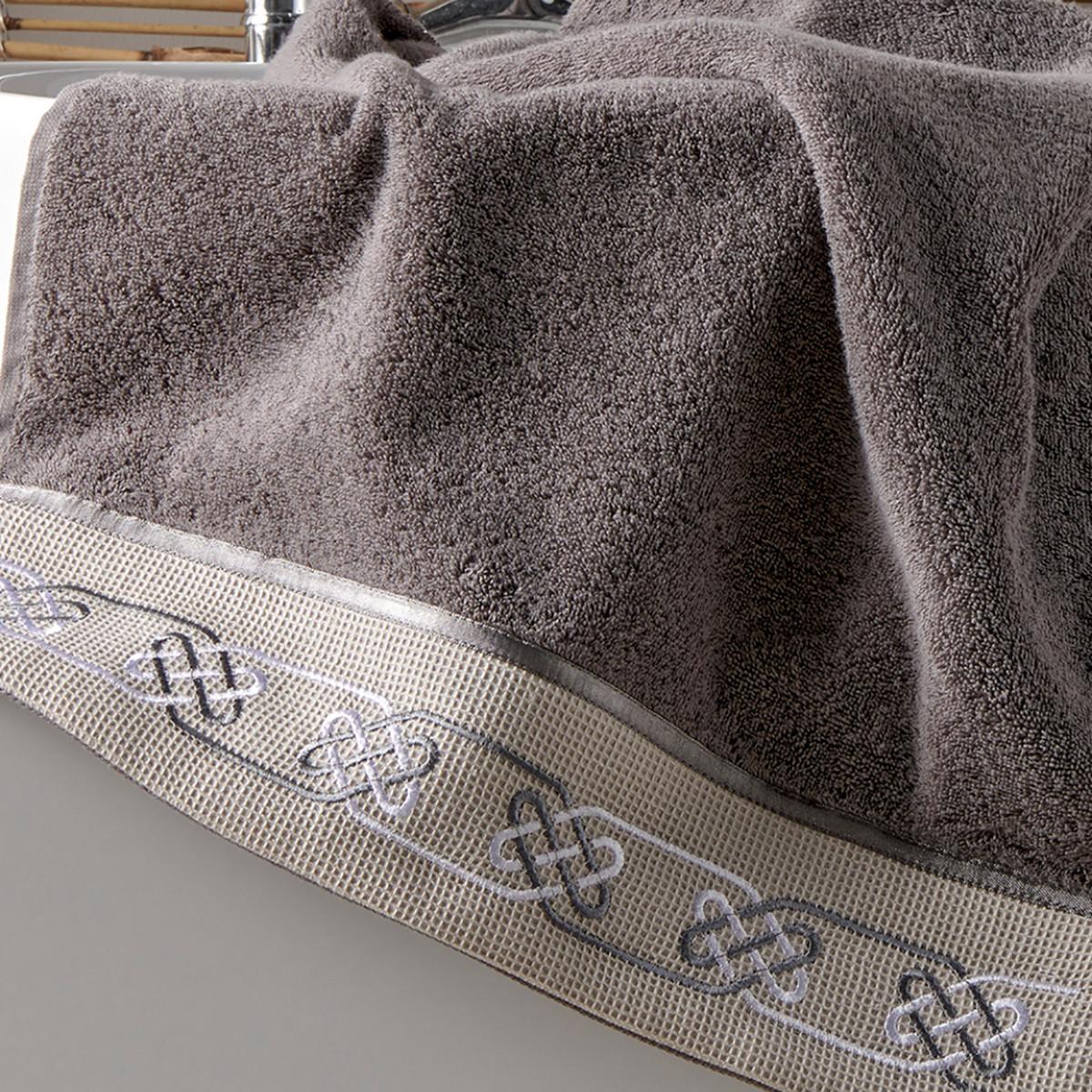 Πετσέτες Μπάνιου (Σετ 3τμχ) Kentia Bath Geo 24