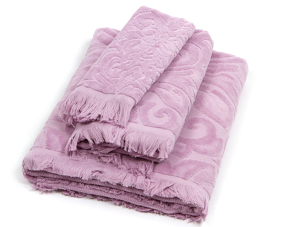 Πετσέτα Χεριών (30×50) Laura Ashley Vittorio Amethyst