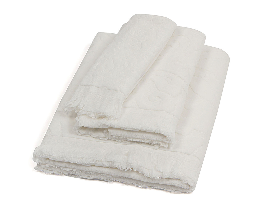 Πετσέτα Προσώπου (50×90) Laura Ashley Vittorio Ivory