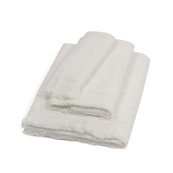 Πετσέτα Σώματος (95x150) Laura Ashley Vittorio Ivory