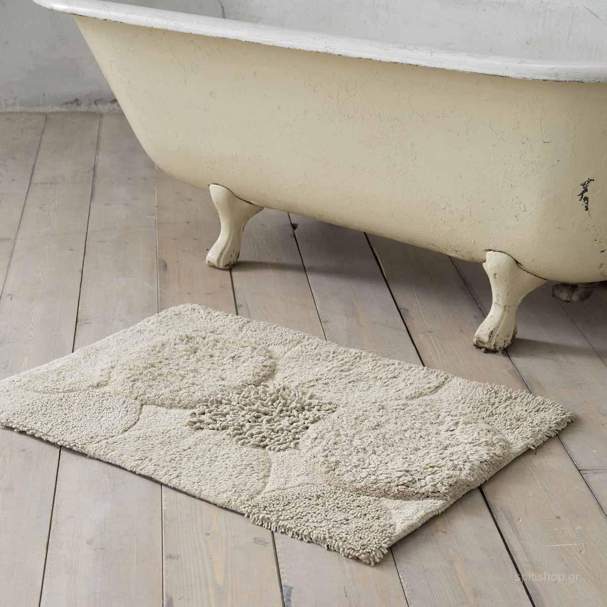 Πατάκι Μπάνιου (60×90) Nima Bath Estima Beige