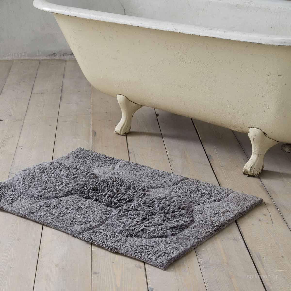 Πατάκι Μπάνιου (60×90) Nima Bath Estima Grey