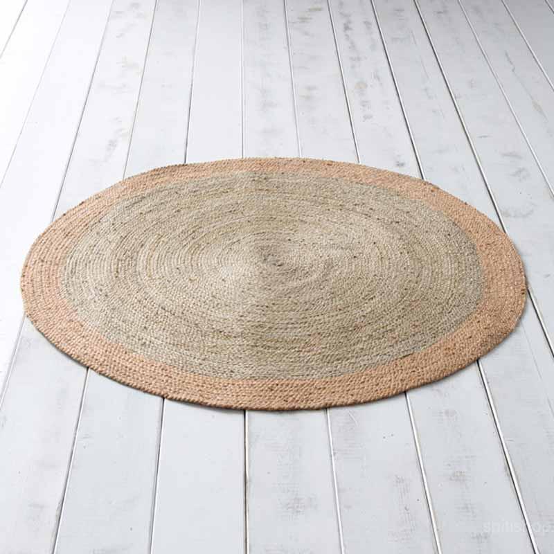 Στρογγυλό Χαλί Καλοκαιρινό (Φ120) Nima Carpets Jogo Salmon
