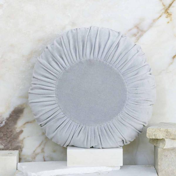 Διακοσμητικό Μαξιλάρι (Φ45) Nima Pillows Velluto Grey