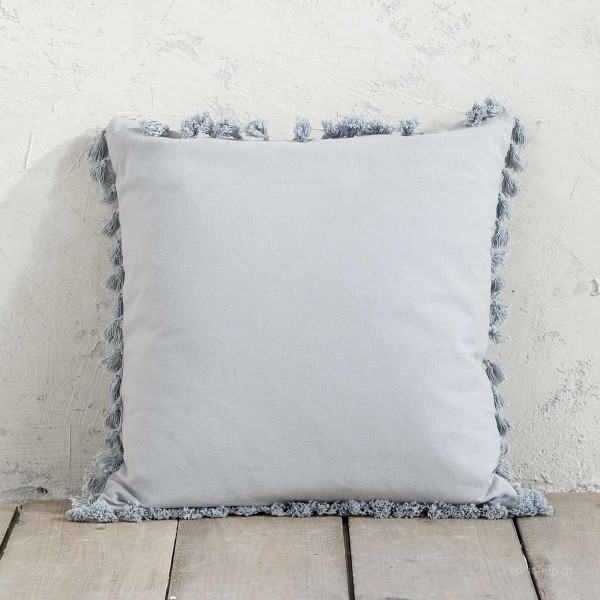 Διακοσμητικό Μαξιλάρι (45x45) Nima Pillows Hommy Grey