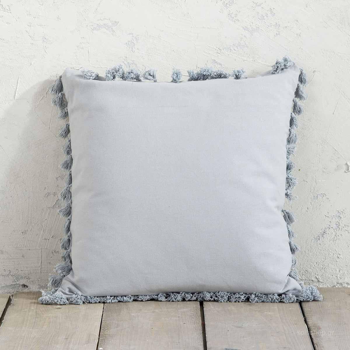 Διακοσμητικό Μαξιλάρι Nima Pillows Hommy Grey