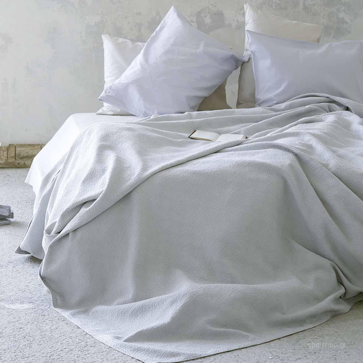 Κουβερτόριο Υπέρδιπλο Nima Layers Sheena Grey home   κρεβατοκάμαρα   κουβέρτες   κουβέρτες καλοκαιρινές υπέρδιπλες