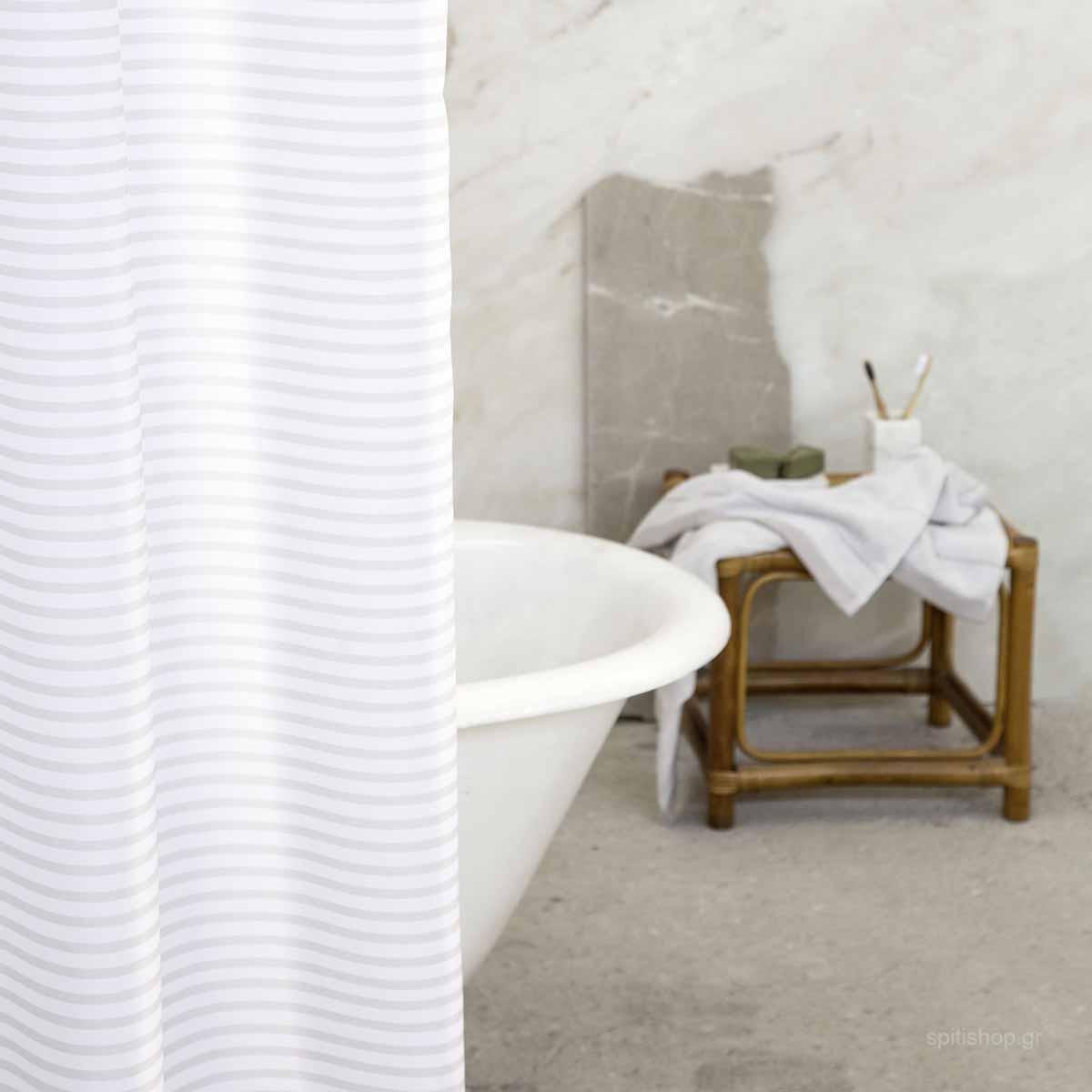 Κουρτίνα Μπάνιου (200×180) Nima Bath Linium