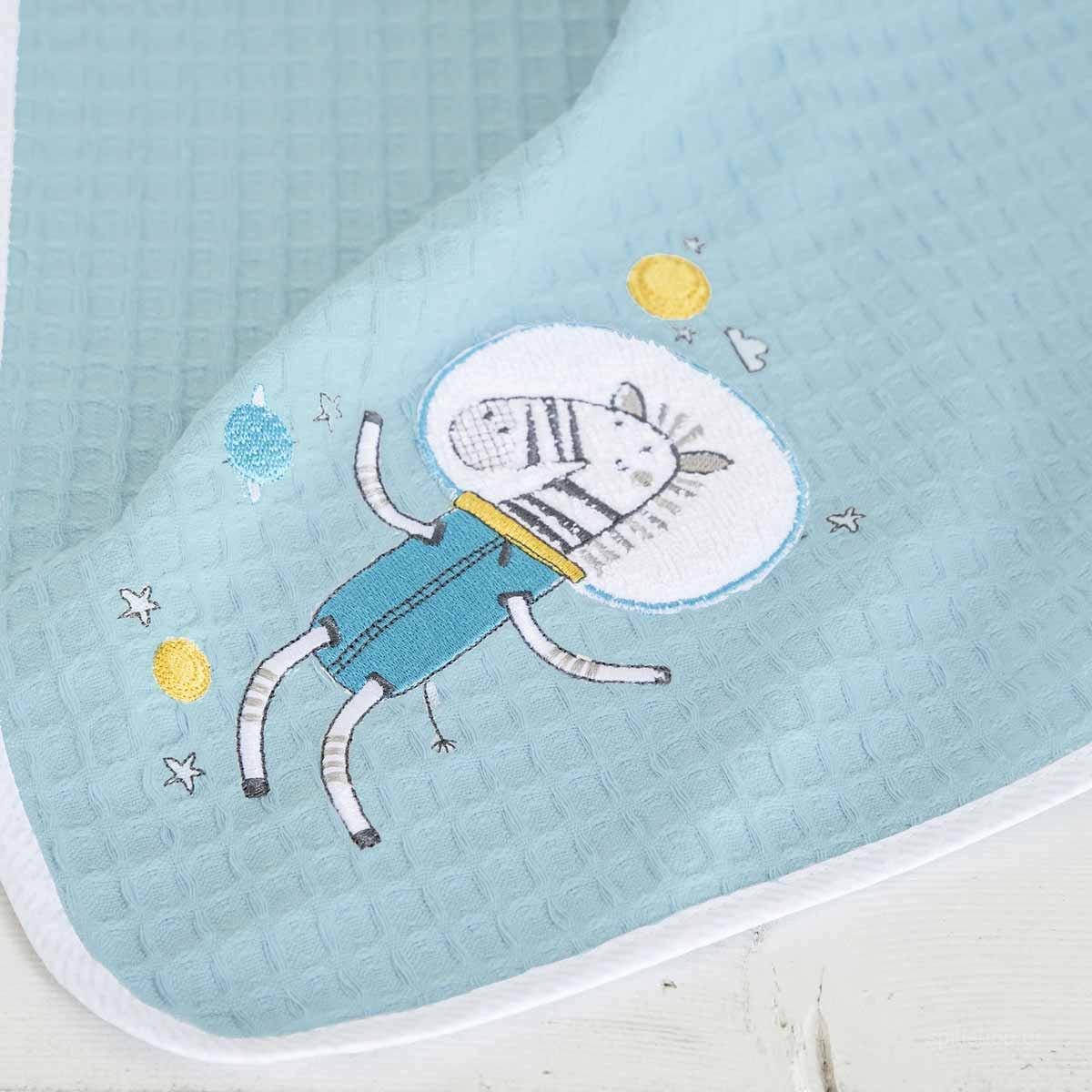 Κουβέρτα Πικέ Κούνιας Nima Baby Space Team home   βρεφικά   κουβέρτες βρεφικές   κουβέρτες καλοκαιρινές