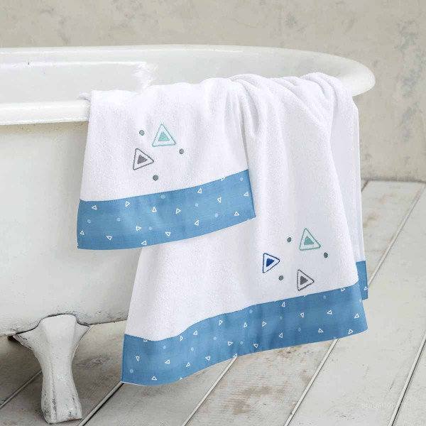 Βρεφικές Πετσέτες (Σετ 2τμχ) Nima Baby Blob