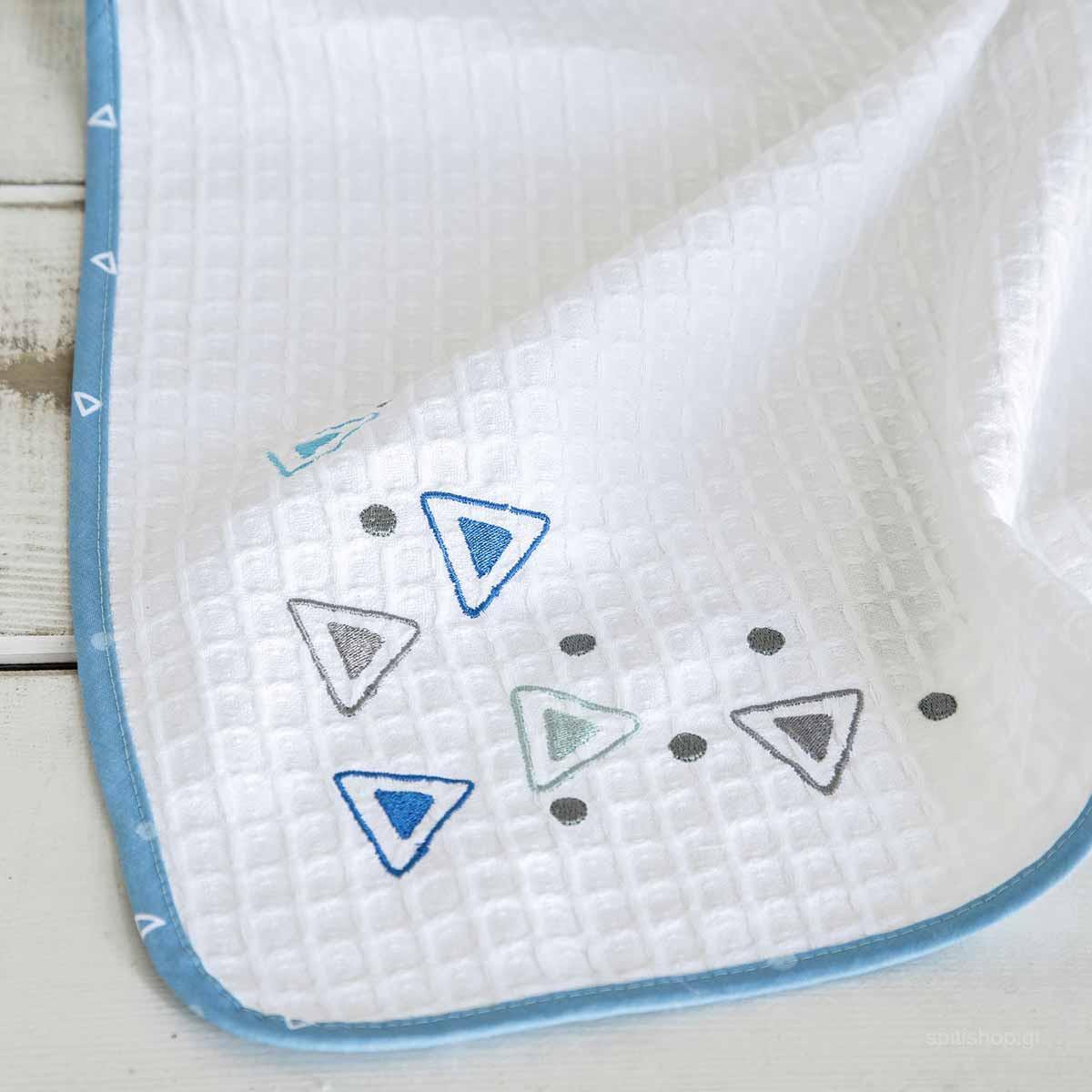 Κουβέρτα Πικέ Κούνιας Nima Baby Blob home   βρεφικά   κουβέρτες βρεφικές   κουβέρτες καλοκαιρινές