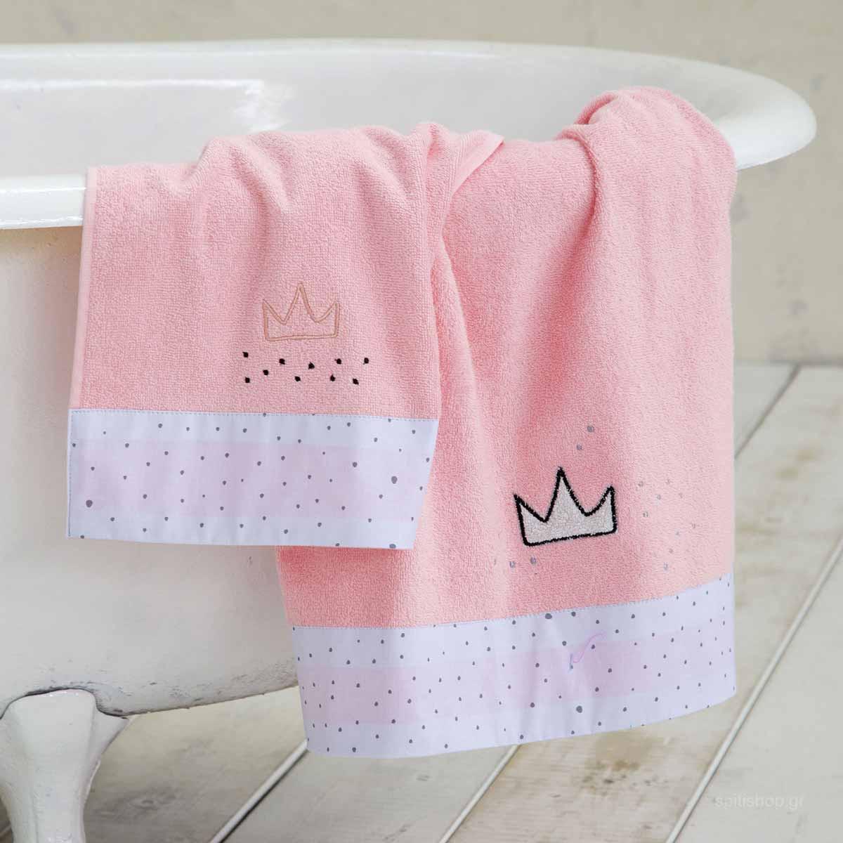 Βρεφικές Πετσέτες (Σετ 2τμχ) Nima Baby Majesty