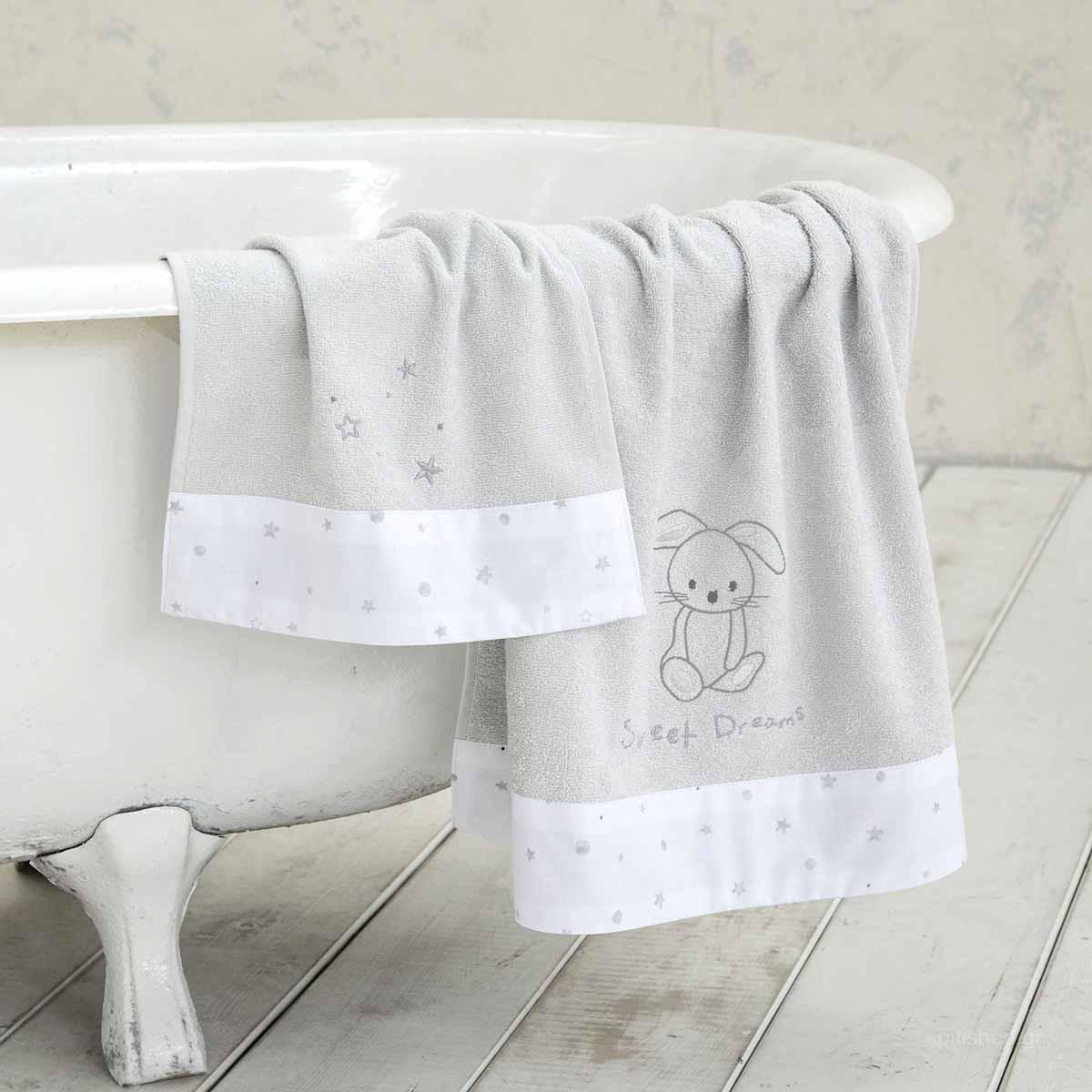 Βρεφικές Πετσέτες (Σετ 2τμχ) Nima Baby Baby Bunny