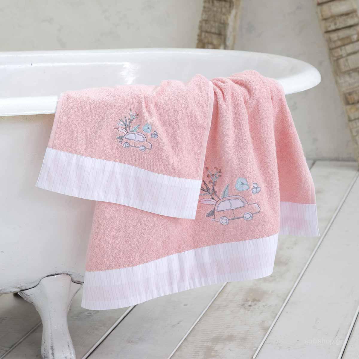6b4cc1f6c72 -10% Spiti Shop Παιδικές Πετσέτες (Σετ 3τμχ) Nima Kids Nora