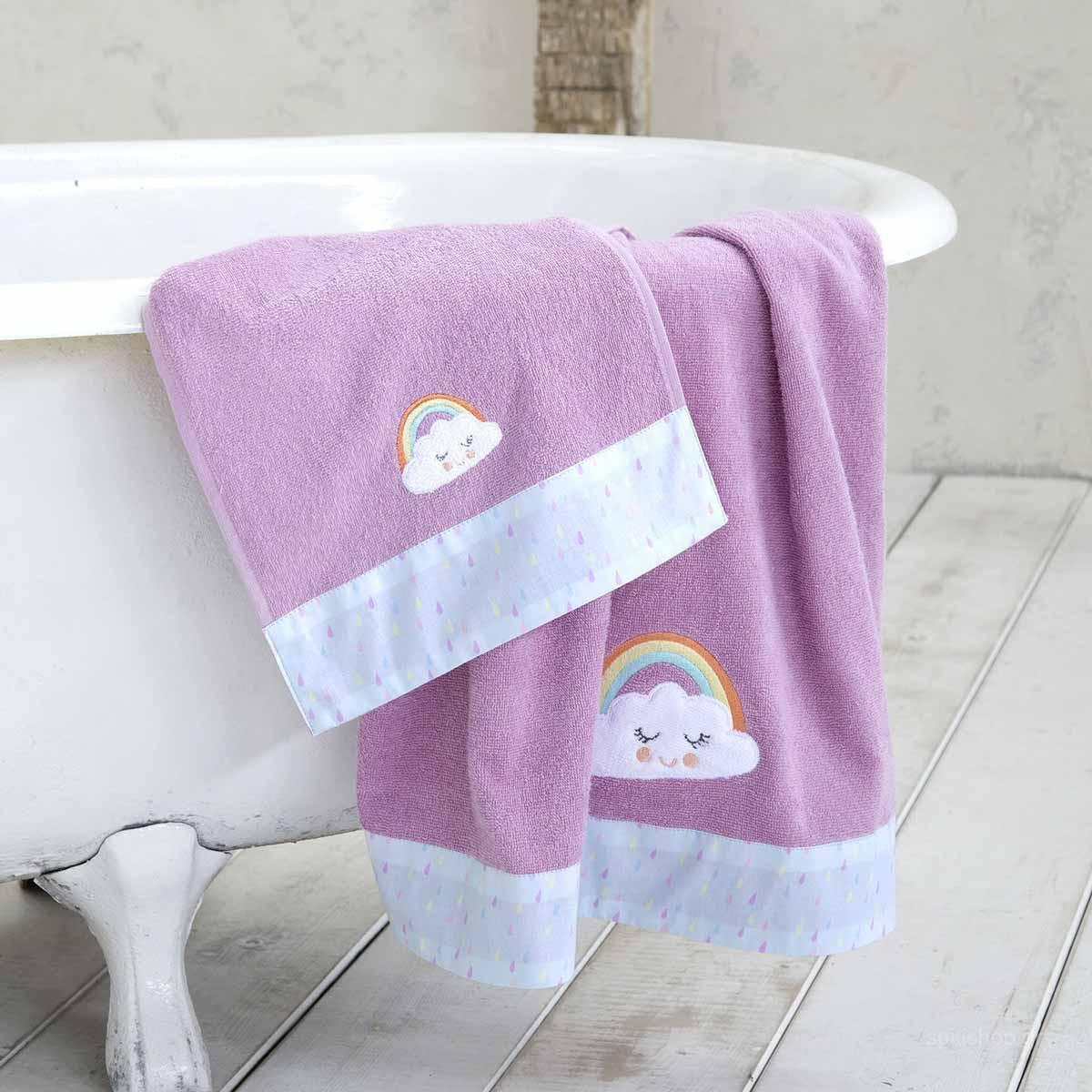 Παιδικές Πετσέτες (Σετ 3τμχ) Nima Kids Pawnee home   παιδικά   πετσέτες παιδικές