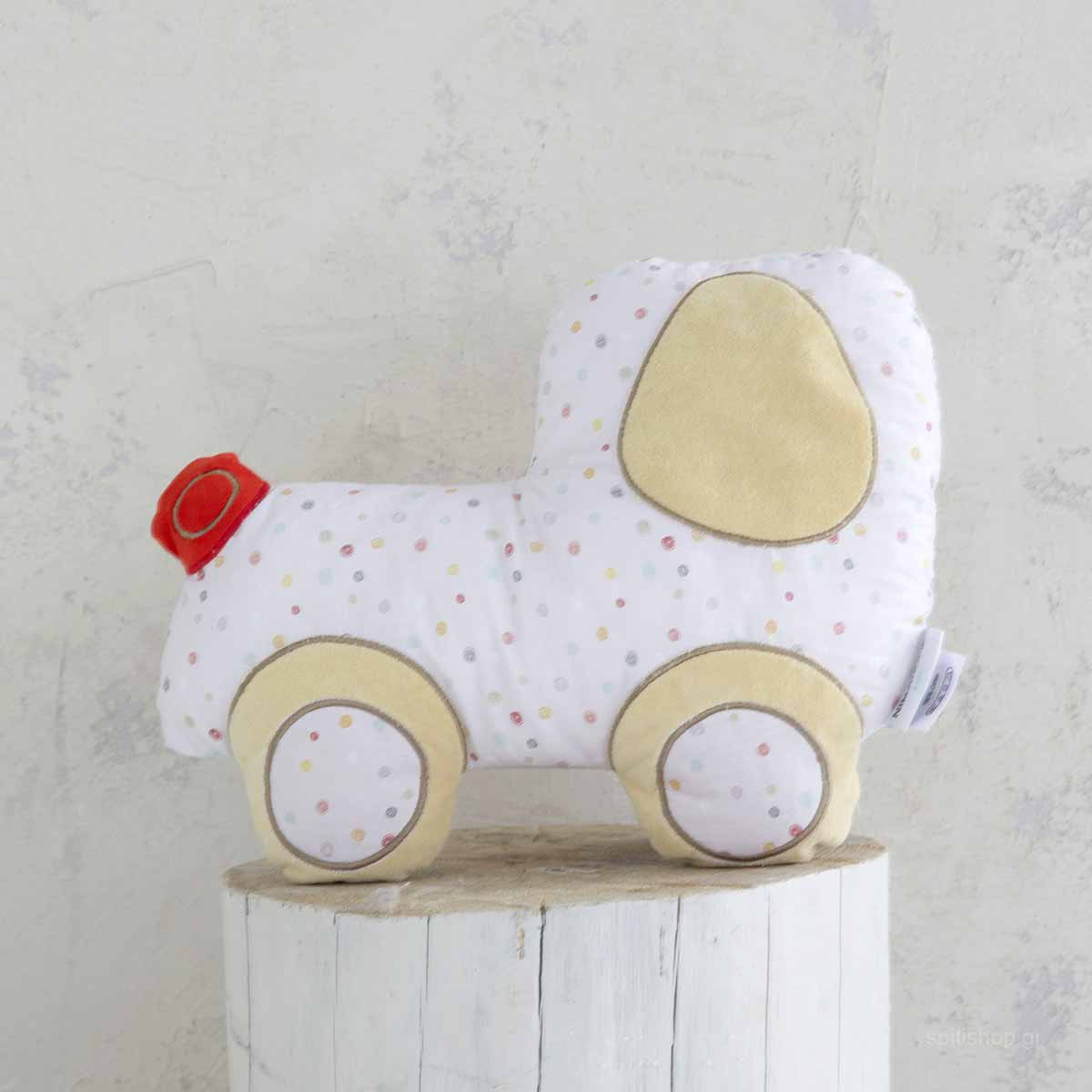 944c2a05016 -10% Spiti Shop Διακοσμητικό Μαξιλάρι Nima Kids Pillow Vroom Vroom