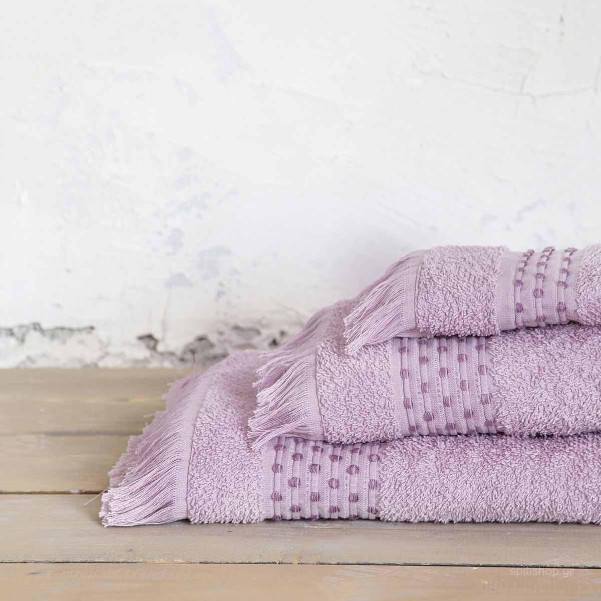 06493b82f09 -10% Spiti Shop Πετσέτα Χεριών (30×50) Nima Bath Springle Lilac