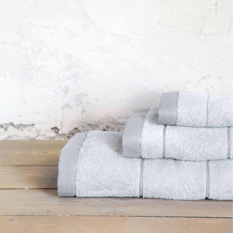 Πετσέτα Σώματος (70x140) Nima Bath Ferrow Grey