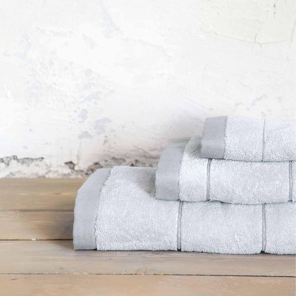 Πετσέτα Σώματος (70×140) Nima Bath Ferrow Grey