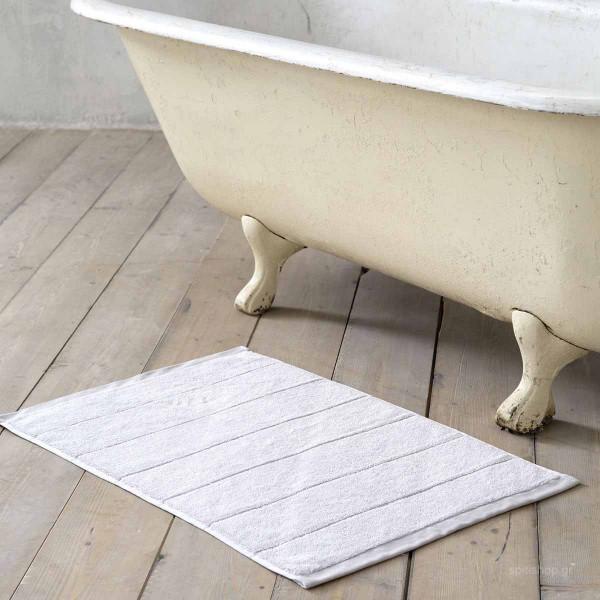 Πετσετέ Πατάκι Μπάνιου (50x80) Nima Bath Ferrow Grey