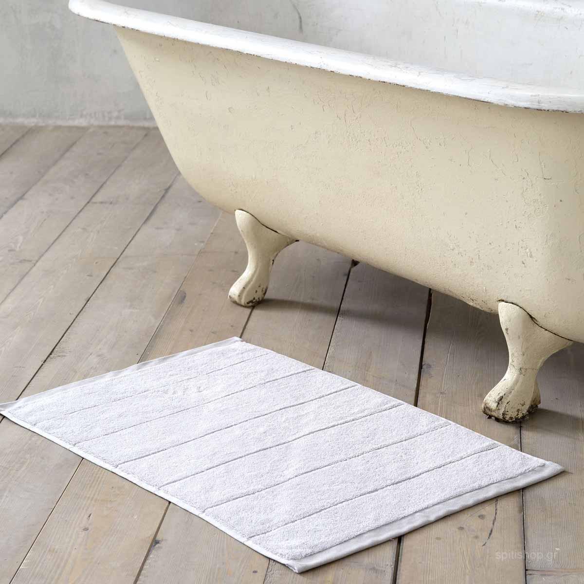 Πετσετέ Πατάκι Μπάνιου (50×80) Nima Bath Ferrow Grey