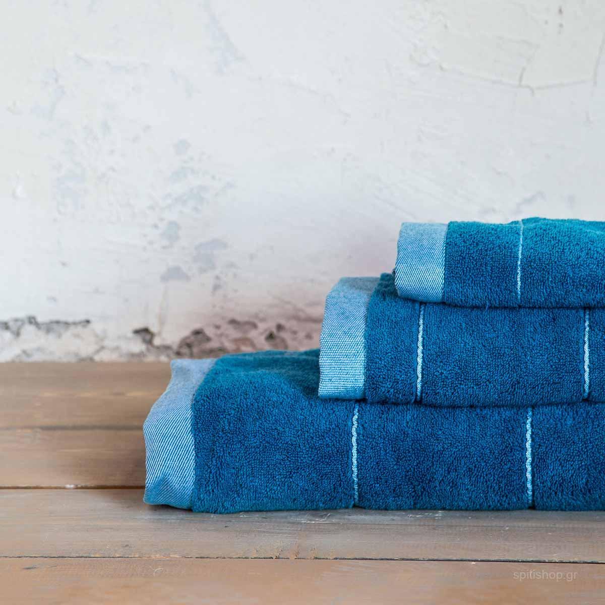Πετσέτα Σώματος (70x140) Nima Bath Ferrow Blue