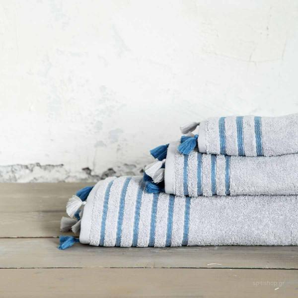 Πετσέτα Χεριών (30x50) Nima Bath Demure Grey