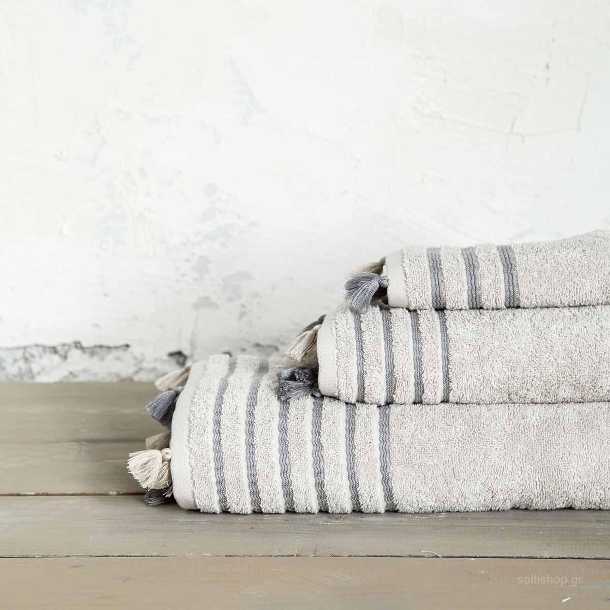 Πετσέτα Χεριών (30×50) Nima Bath Demure Beige