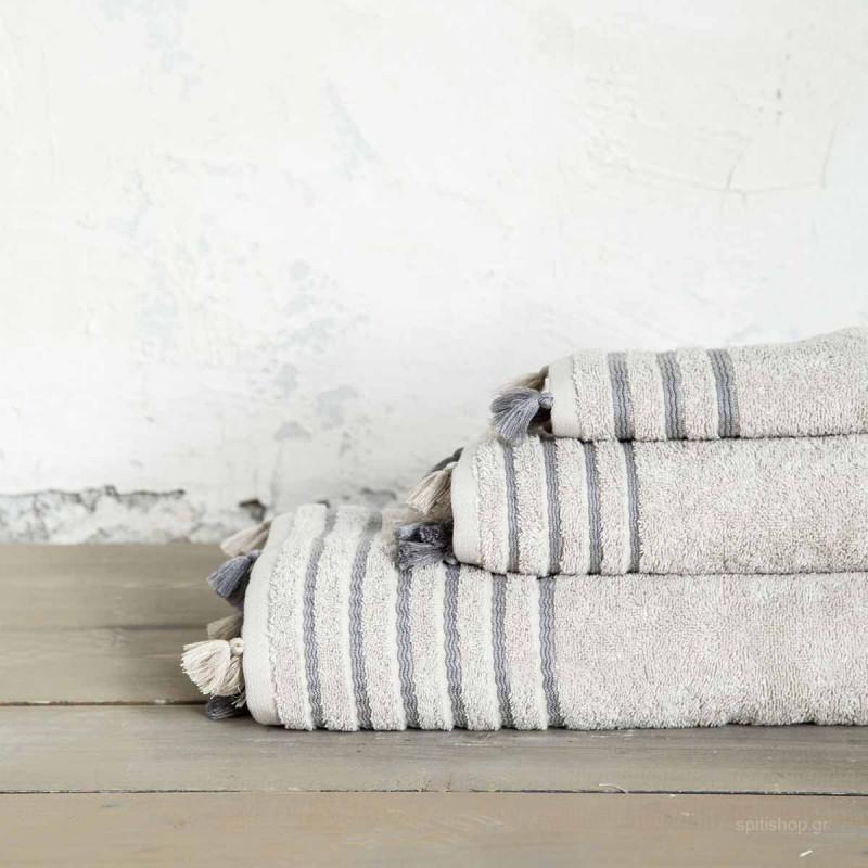 Πετσέτα Σώματος (70x140) Nima Bath Demure Beige