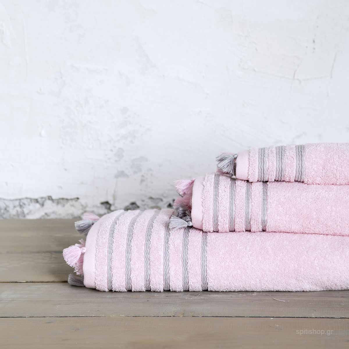 Πετσέτα Χεριών (30×50) Nima Bath Demure Pink