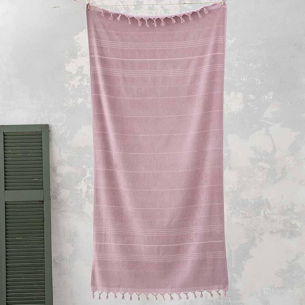Πετσέτα Θαλάσσης-Παρεό Nima Beach Smooth Pink