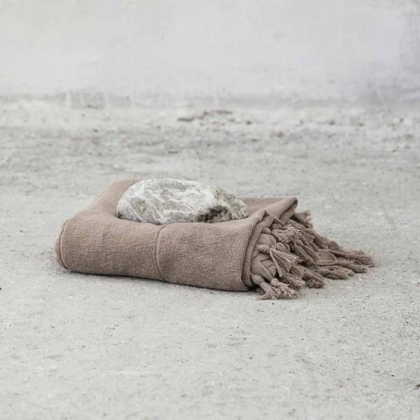 Πετσέτα Θαλάσσης-Παρεό Nima Beach Smooth Brown