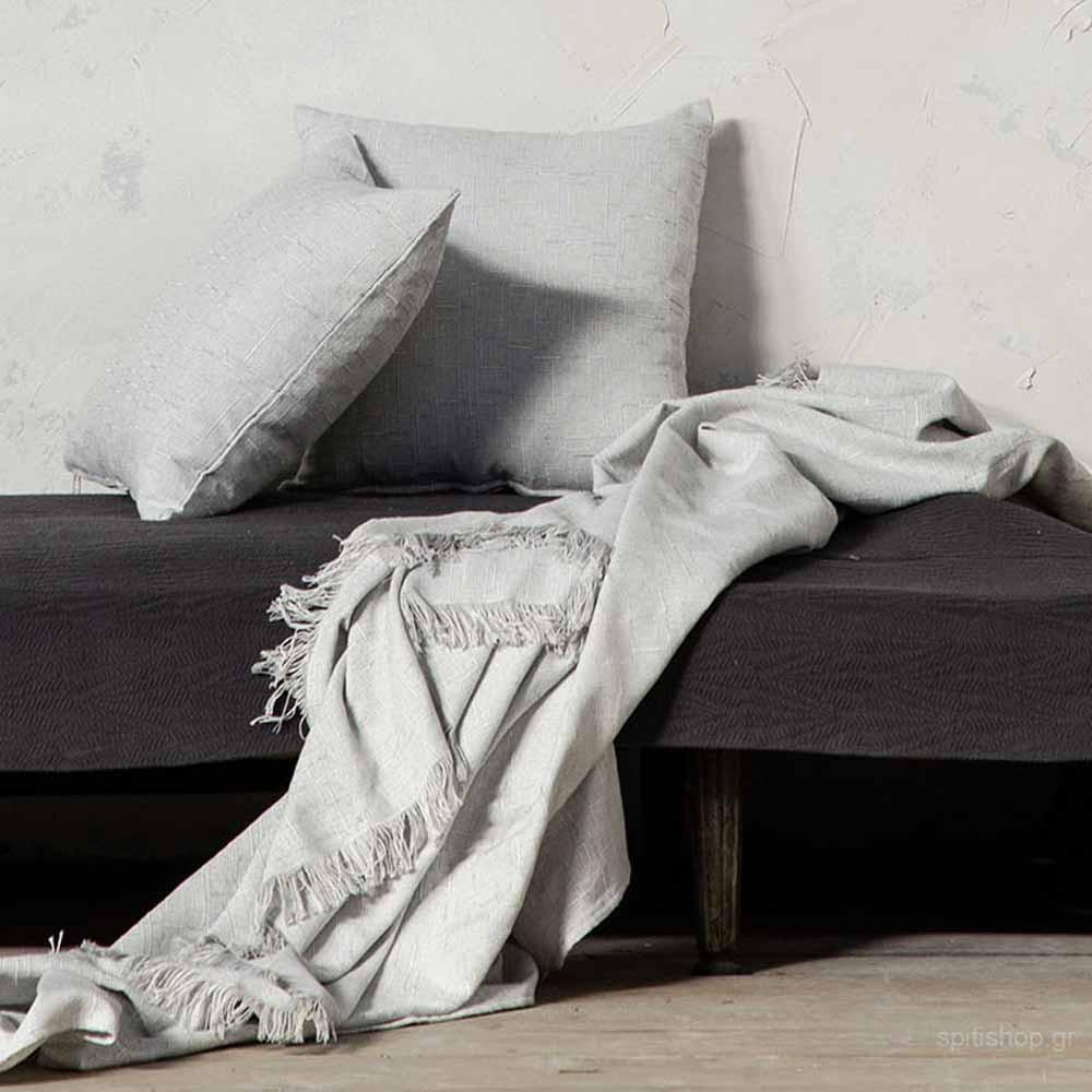 Ριχτάρι Διθέσιου (180×240) Nima Living Grain Grey
