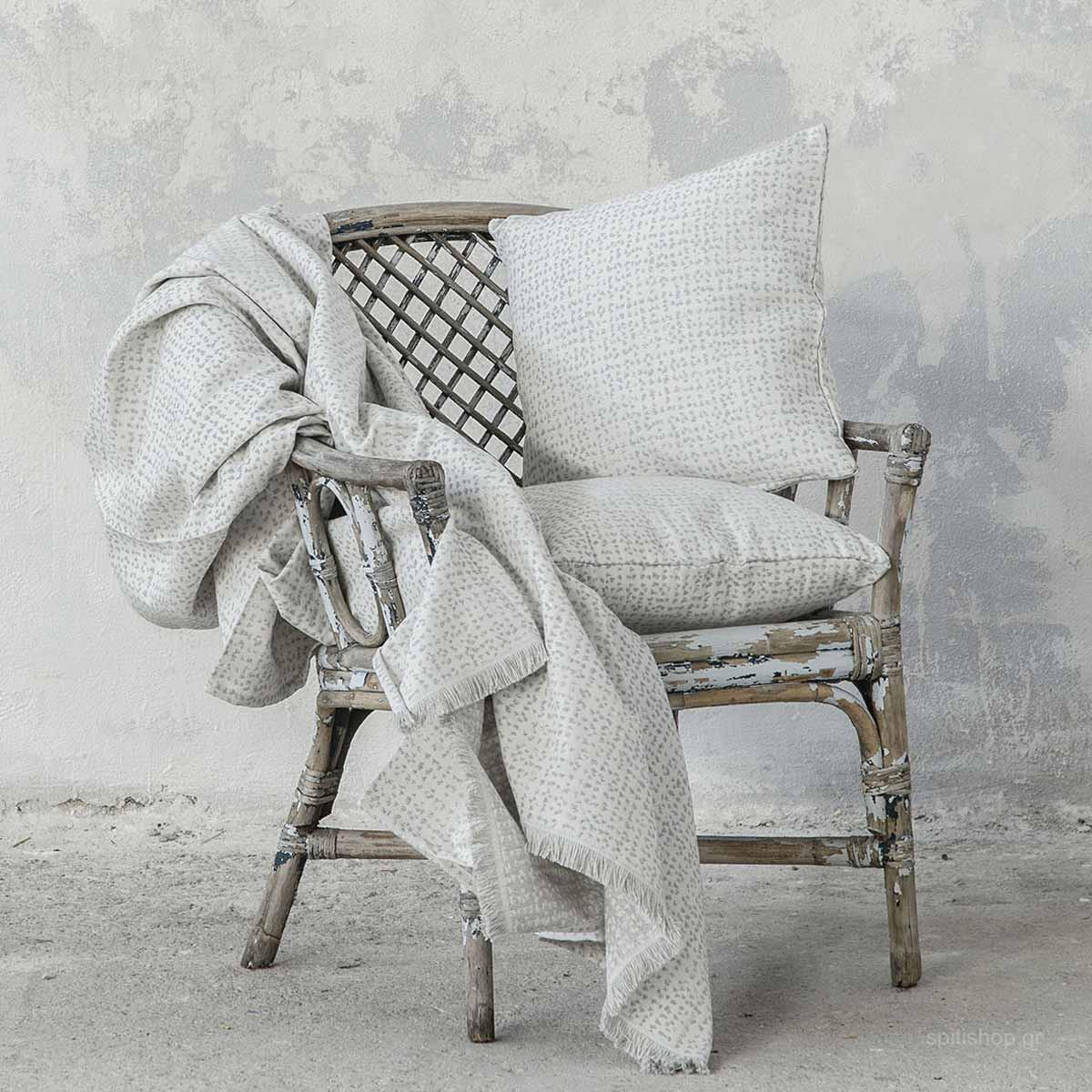 Ριχτάρι Διθέσιου (180×240) Nima Living Boon Grey