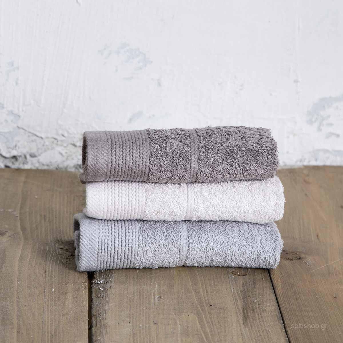 Πετσέτες Χεριών (Σετ 3τμχ) Nima Bath Ritz Swig home   μπάνιο   πετσέτες μπάνιου