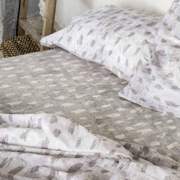 Σεντόνια Υπέρδιπλα (Σετ) Nima Bed Linen Dayo Beige