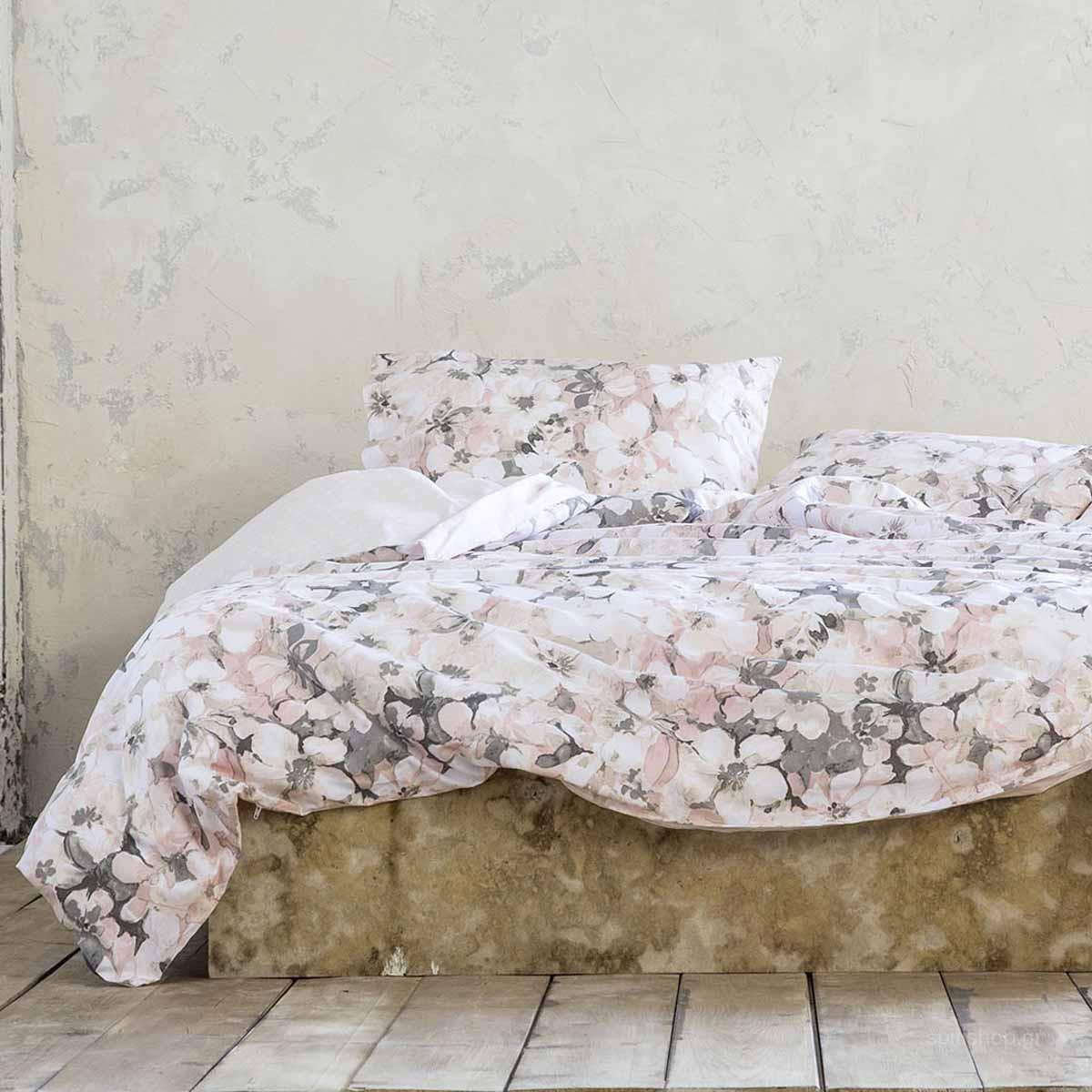 Σεντόνια Υπέρδιπλα (Σετ) Nima Bed Linen Passion Flower ΧΩΡΙΣ ΛΑΣΤΙΧΟ ΧΩΡΙΣ ΛΑΣΤΙΧΟ