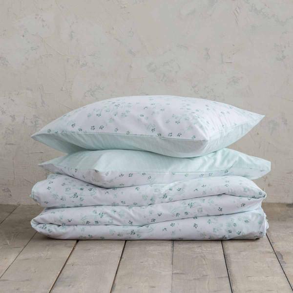 Σεντόνια Υπέρδιπλα (Σετ) Nima Bed Linen Demanda Mint