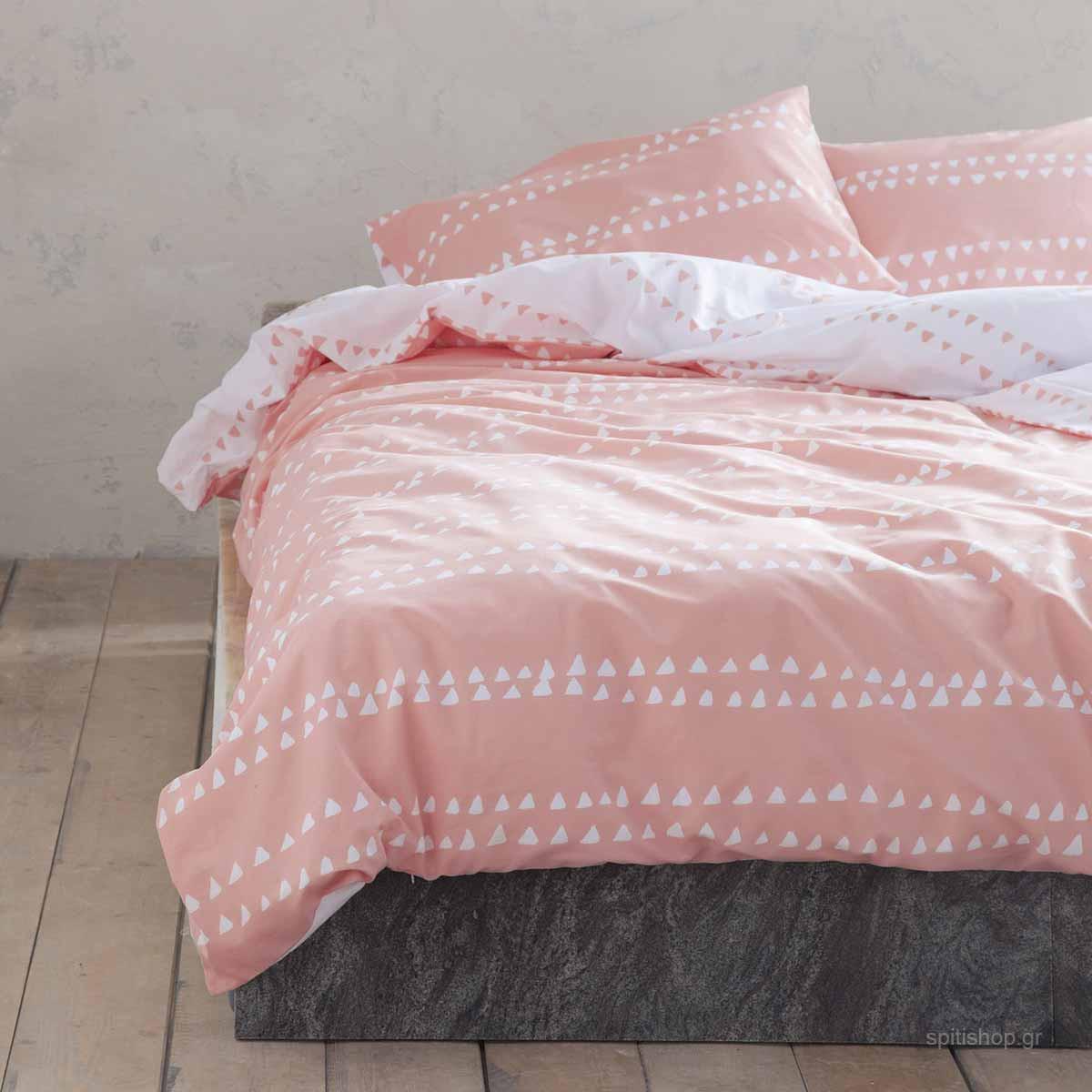 Ζεύγος Μαξιλαροθήκες Nima Bed Linen Natal Pink