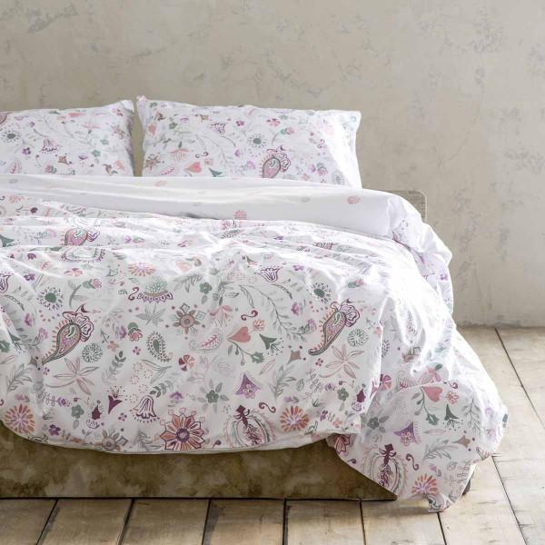 Σεντόνια King Size (Σετ) Nima Bed Linen Desire Pink