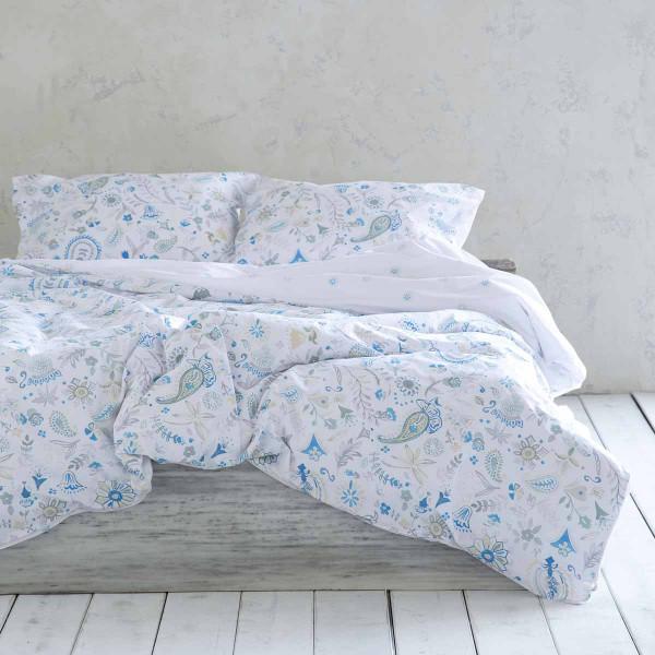 Σεντόνια King Size (Σετ) Nima Bed Linen Desire Blue