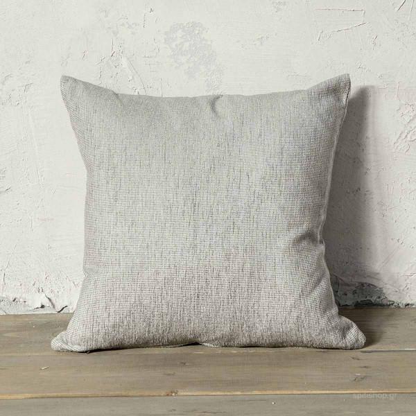 Διακοσμητικό Μαξιλάρι (45x45) Nima Living Tinge Grey