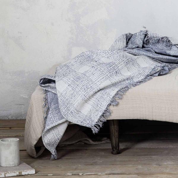 Διακοσμητικό Μαξιλάρι (45x45) Nima Living Caliber Blue