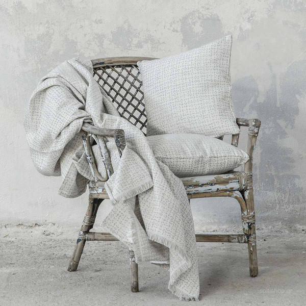 Διακοσμητικό Μαξιλάρι (45x45) Nima Living Boon Grey
