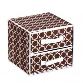 Συρταριέρα Τακτοποίησης 2 Θέσεων εstia 03-4958 Brown