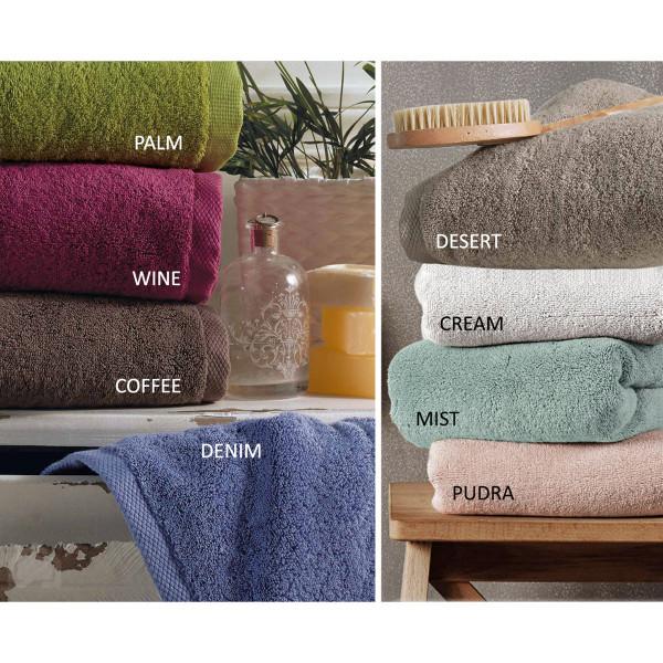 Πετσέτα Χεριών (30x50) Kentia Bath Luxury