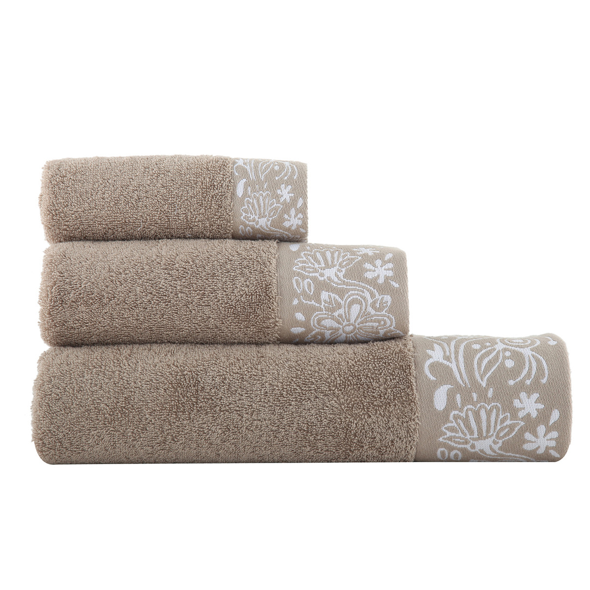 Πετσέτες Μπάνιου (Σετ 3τμχ) Nef-Nef Semplice home   μπάνιο   πετσέτες μπάνιου